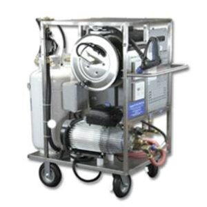 Mobile Tankless Hot Water High Pressure Cart