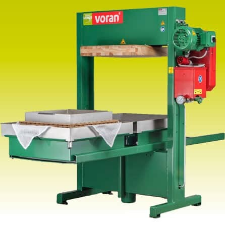 VORAN Packing press 100 P2 with two shift press cages