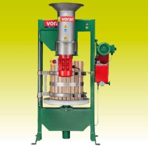 VORAN Basket press 60K with centrifugal mill RM1,5