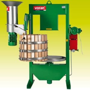 VORAN Basket press 100K with centrifugal mill RM1,5