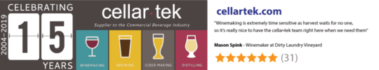 Small winery & cidery equipment & supplies for Garagiste producers - CellarTek